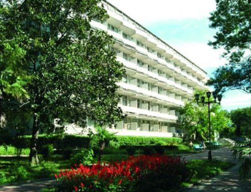 Санаторий «Известия» — санатории Адлера Курортный городок (Сочи)
