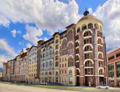 Апартаменты «Горки Город +540» 3* Красная поляна (Сочи)