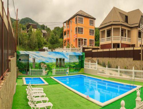 Парк — отель «Джаз Лоо» 3* пос. Лоо (Сочи)