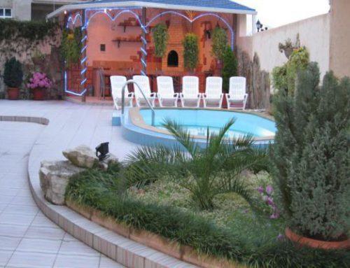 Отель «Голубая Лагуна» Курортный городок Адлера