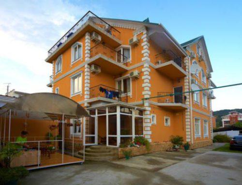 Гостиница «Ева» Курортный городок Адлер